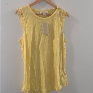🆕 Michael Kors sunshine yellow tank